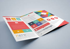 trifold brochure indesign template tri brochure template indsighn a4 tri fold brochure template