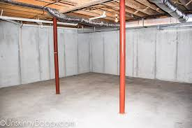 painted basement ceiling. Just A Standard Issue Poured Concrete Basement. Big, Open Space. No Windows, Plumbing. Very Straightforward. Painted Basement Ceiling