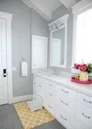 grey and yellow bath mat light grey wall color with nice small yellow bath rug using