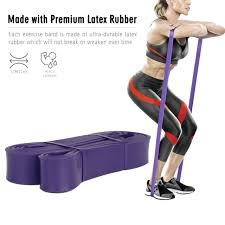 Stretch Band Loops Exercise Chart 2 175lbs Tension Resistance Band Rope Tube Latex Elastic Exercise Loop For Gym