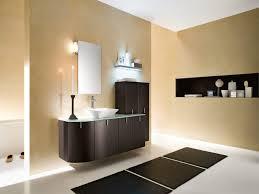 Stainless Steel Towel Holder Chrome Gooseneck Faucet Adhered Bathroom  Mirror Lighting Ideas White Ceramic Toilet Wooden Laminated Floor  Minimalist Vanity ...