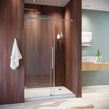 sunny shower frameless shower door