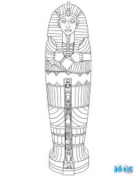 Small Picture Egyptian sarcophagus coloring pages Hellokidscom