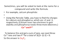 Naming Compounds and Molecules. Before naming a compound, you have ...