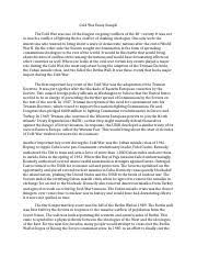 cold war study resources 2 pages cold war essay
