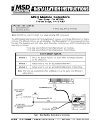 msd 8737 rpm module selector installation instructions manualzz com msd 8737 rpm module selector installation instructions