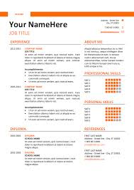 Simple Resume Templates