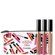 rouge coco gloss trio trio set chanel