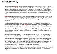 Floridaframeandart Com Free Cv Template Executive Summary Example