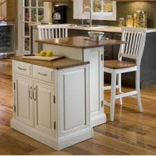 Polished Kitchen Floor Tiles Small Kitchen Island With Stools Square Brown Barstool Classic