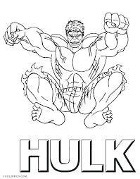 Hulk Coloring