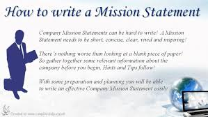 mission statement essay cmerge  how to write company mission statements business plan vision and statement examples business plan
