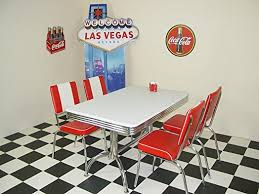 diner style table and chairs uk. american 50s diner furniture budget retro style booth table and 4 red chairs uk o
