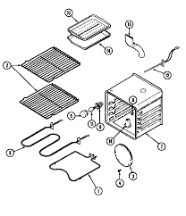 kenmore oven parts. 62946975 range oven parts diagram kenmore n