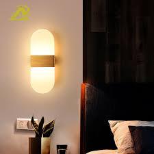 Đèn led ngủ đầu giường Bắc Âu trang trí phòng tắm hành lang sáng đơn giản  hiện đại gắn tường 8187