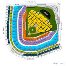 Wrigley Field Concerts Online Charts Collection