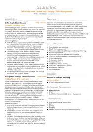 Logistics CV Examples And Template Stunning Logistics Resume
