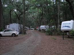 Best RV Snowbird Camping Destinations : Jekyll Island Campground