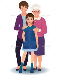 Image result for cartoon mothers and grandmothers