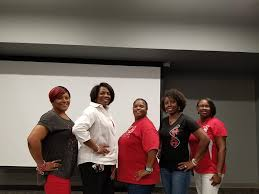 Some of the officers of Brunswick Alumnae chapter Pam Mays ...