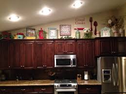 decor cabinet kitchen above cabinets decorating