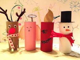 20 Fantastic Things To Make With Paper Rolls This ChristmasChristmas Crafts Made With Toilet Paper Rolls