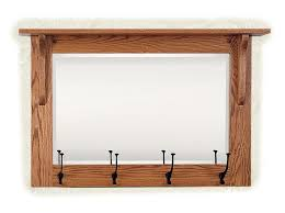 Mission Coat Rack Delectable Mission Wall Mirror With Coat Rack From DutchCrafters Amish Furniture