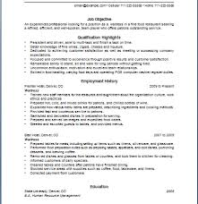 Waitress Job Skills And Job Description Free Waitress Resume Job Description  Sample Resume