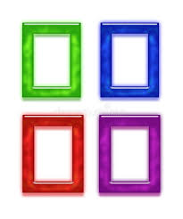 Set Of Four Colorful Frames Royalty Free Stock Image Image 32410716