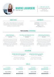 Good Resume Coherent Resume Mycvfactory