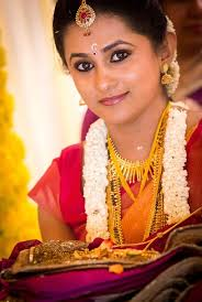 bridal makeup in south indian style