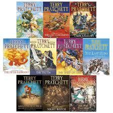 Terry Pratchett Discworld Novels Series 5 And 6 10 Books