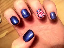 Brush up and Polish up!: CND Shellac Nail Art - Union Jack | Oh to ...