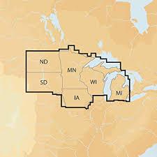 Navionics Plus Regions North Lake Charts On Sd Msd