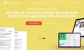 Online Resume Builder Cool Free Resume Hosting Provider And Online Resume Builder Resume