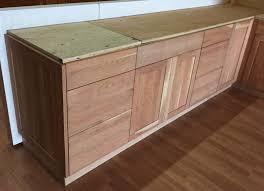 unfinished shaker kitchen cabinets. Unfinished Natural American Cherry Shaker Kitchen Cabinets Gallery Image K