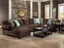 living rooms with brown furniture. Alluring Dark Brown Sectional Living Room Ideas 17 Best About Couch On Pinterest Rooms With Furniture G