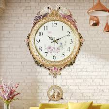 Small Picture Q 20 Inches Fashion Large Wall Clock Contemporary Creative Metal