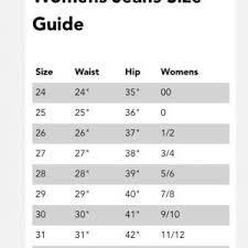 Pacsun Size Chart Mens Jeans The Best Style Jeans
