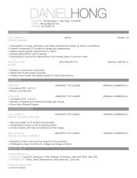 100 Standard Resume Template Usc Resume Template Resume For