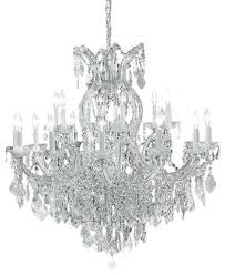 16 light chandelier maria crystal silver traditional chandeliers touareg 35 wide chrome 16 light chandelier lighting orion