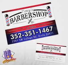barbershop business cards tonys barber shop business cards and post cards bb graphics the