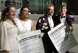 gay marriage life out a net gay marriage isn t rare and it s never destroyed society