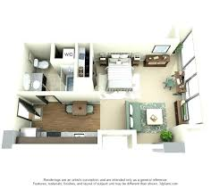 one bedroom apartment layout wonderful one bedroom apartment
