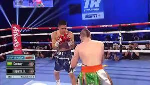 Francisco Esparza vs Matt Conway 26 10 2019 Full Fight - video ...