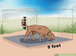 image titled build a dog run step 2