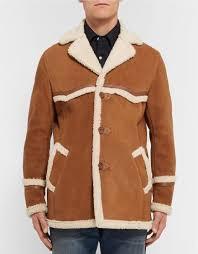 brown camel suede leather jacket coat