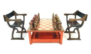 chess set table chess board coffee table e for chess set coffee table chess board set
