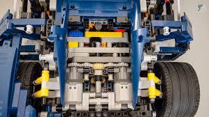 A keréktárcsák egyedi megjelenését különösen nehéz volt. Lego Technic 42083 Bugatti Chiron Rc Mod Engine Swap Racingbrick