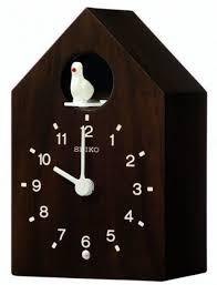seiko wooden wall clock qxh070b
